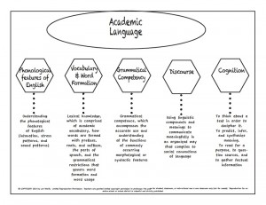 Academic langugae graphic