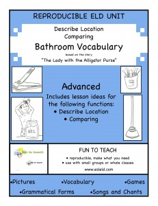 Adv Bathroom Vocab cover