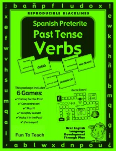 Spanish Preterite Game Cover - April 2012