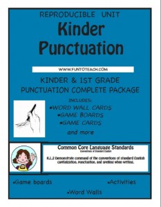 kinder punctuation cover
