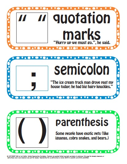 Punctuation Complete Package Fun To Teach